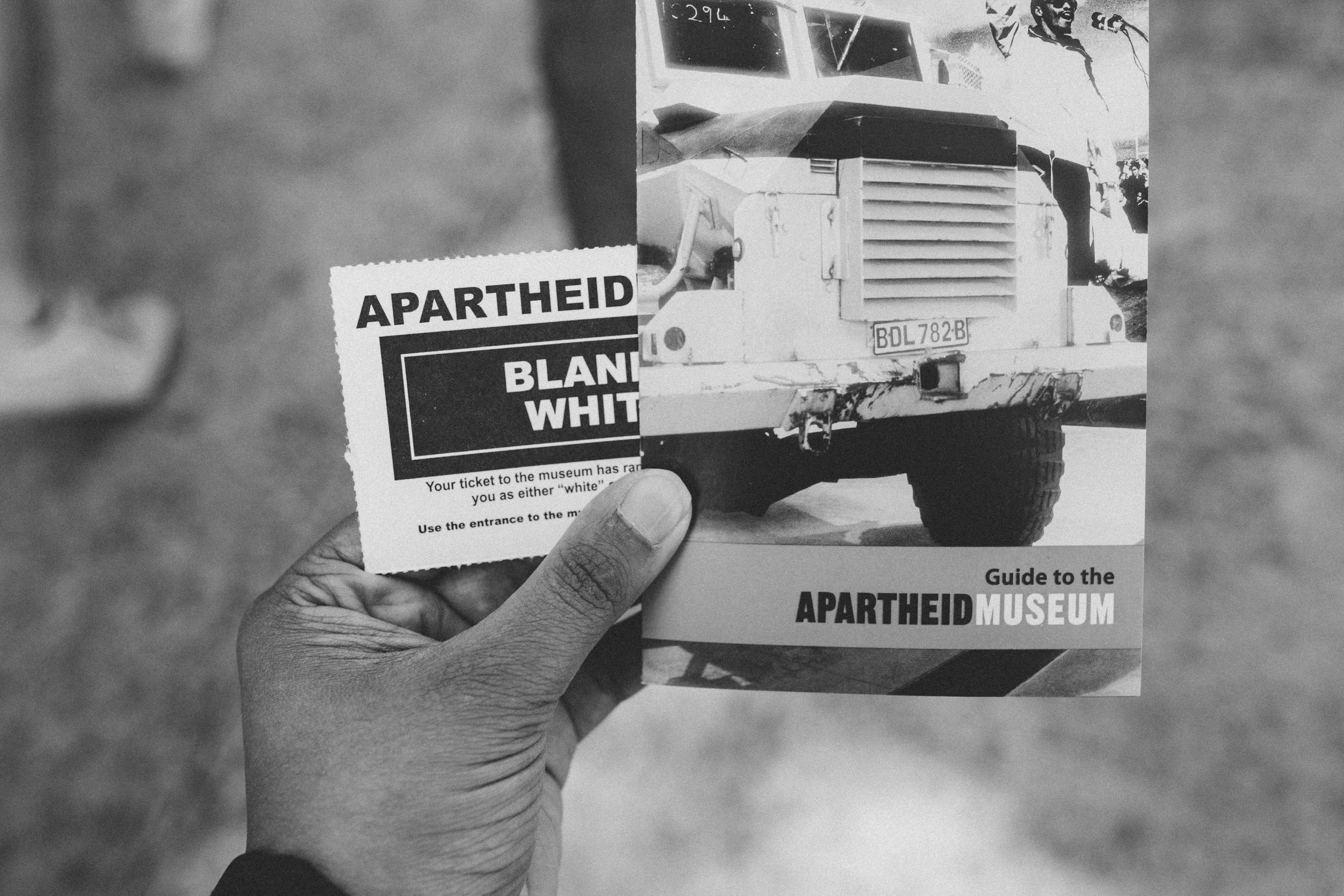 Ticket to Apartheid Museum